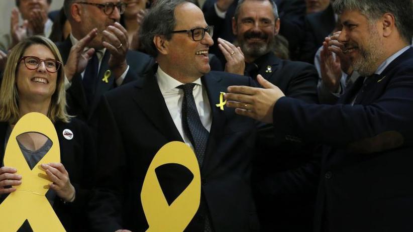 Separatist Quim Torra gewählt: Im fünftem Anlauf: Katalonien hat einen neuen Regierungschef