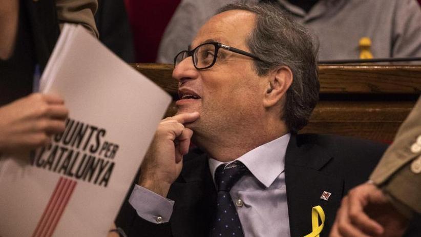 Mehrheit der Stimmen: Quim Torra zum Regionalpräsidenten von Katalonien gewählt