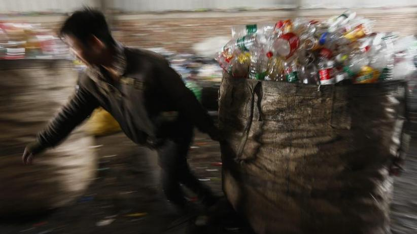 Bundesverband: Recyclingbranche: Chinas Plastikmüll-Importstopp ist Chance