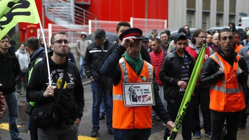 Hohe Beteiligung: Streik bei Frankreichs Bahn verschärft sich wieder