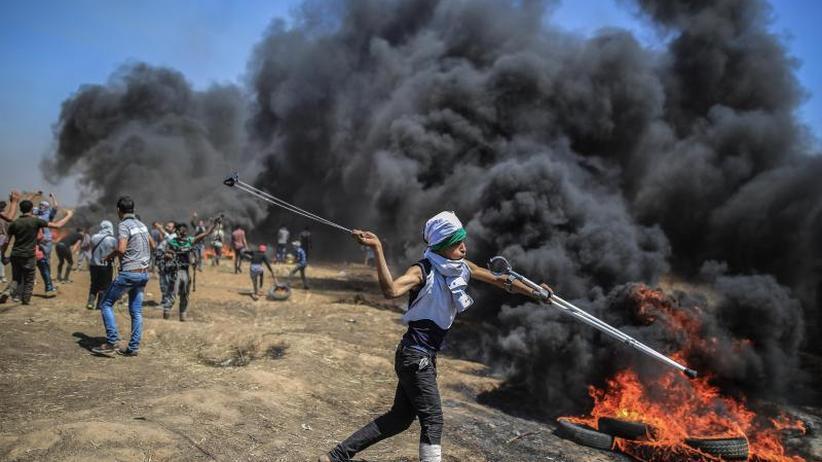 Konfrontation mit Soldaten: US-Botschaft eröffnet: 52 Tote bei Protesten in Gaza