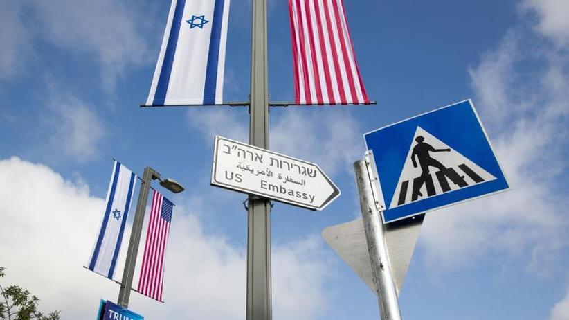 Palästinenser protestieren: USA eröffnen Botschaft in Jerusalem
