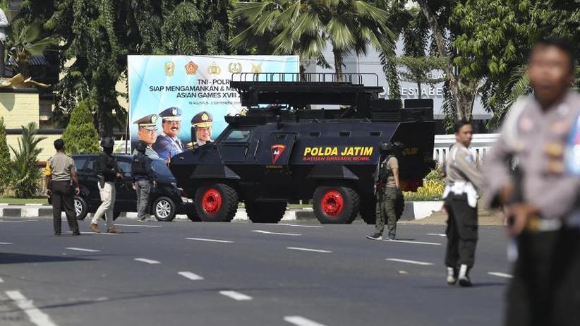 Nach Angriffen auf Kirchen: Vier Tote bei Anschlag auf Polizeizentrale in Indonesien