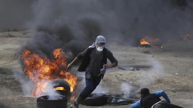 US-Botschaft in Jerusalem: ZweiTote bei ersten Konfrontationen an Gaza-Grenze