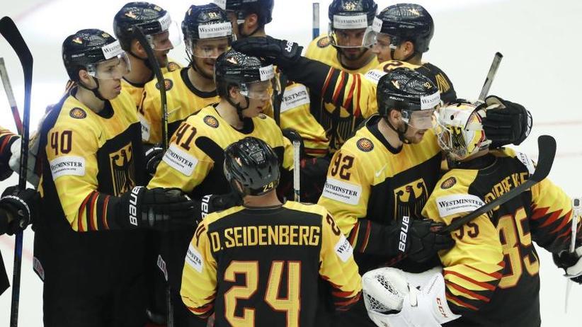 Vor Spiel gegen Kanada: DEB-Team beendet Eishockey-WM in Dänemark als Elfter