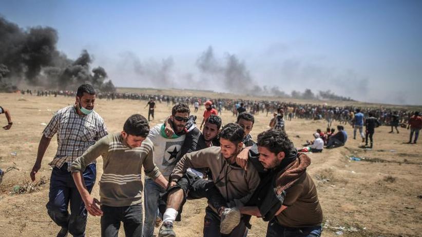 UN-Sicherheitsrat berät: Palästinenser streiken nach blutigen Protesten