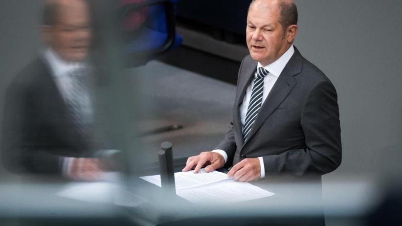 Scharfe Kritik: Scholz verteidigt Haushaltsentwurf im Bundestag