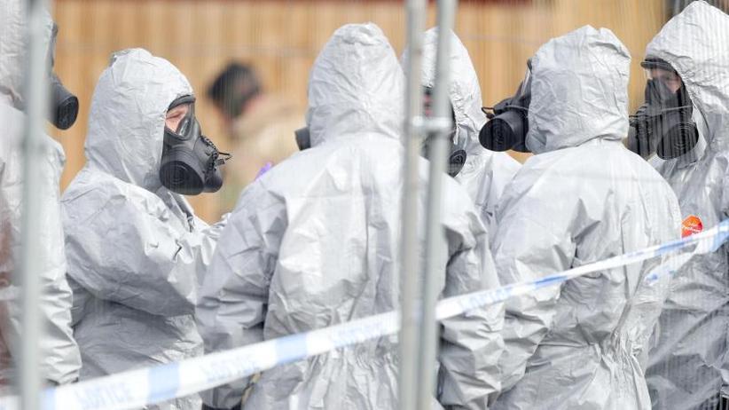 Kampfstoff und Nervengift: Rechercheverbund: BND beschaffte sich Probe von Nowitschok