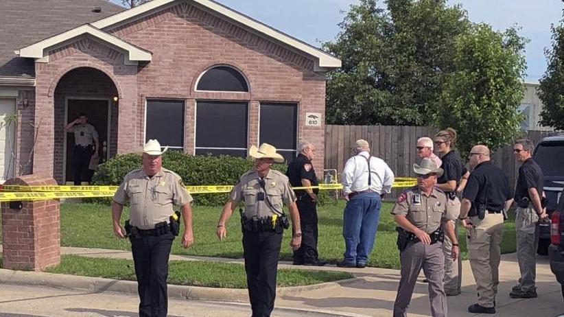 Täter erschießt drei Kinder: Beziehungsdrama mit fünf Toten in Texas