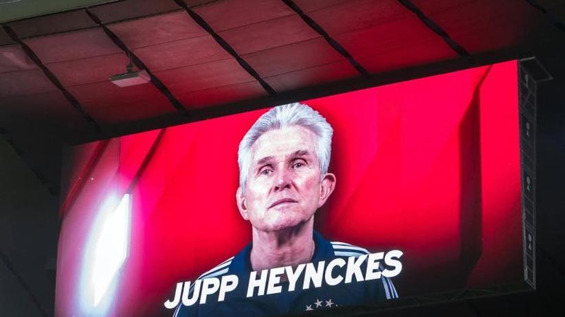 """Trainer ein """"Vorbild für alle"""": Heynckes dankt ab: Pokal-Höhepunkt zum Abschied"""