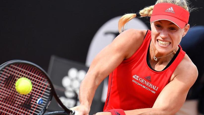 Gojowczyk ausgeschieden: Kerber erreicht Viertelfinale in Rom