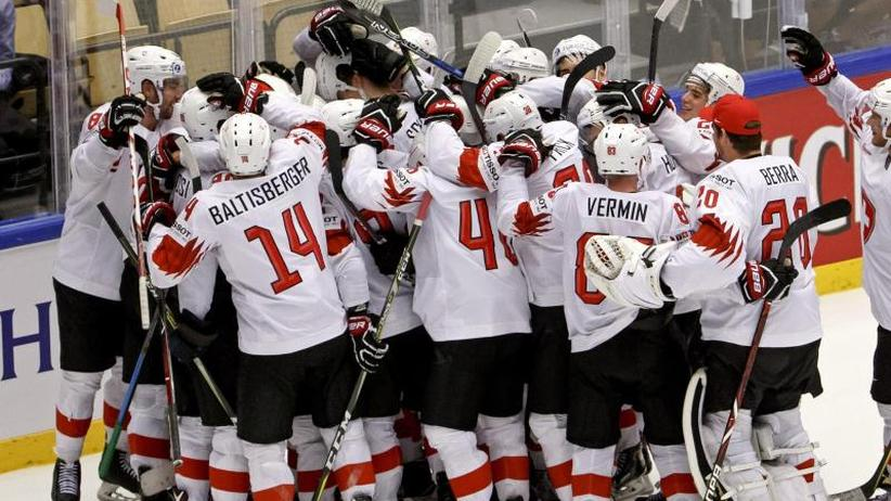 Eishockey-WM: Schweiz überraschend im Halbfinale gegenKanada