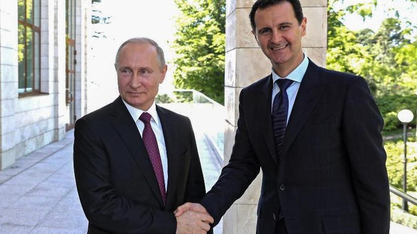 Treffen in Sotschi: Syrischer Präsident Assad unangekündigt bei Putin