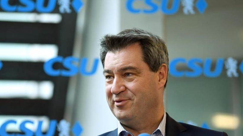 SPD im Tal der Tränen: Umfrage: CSU muss weiter um absolute Mehrheit bangen