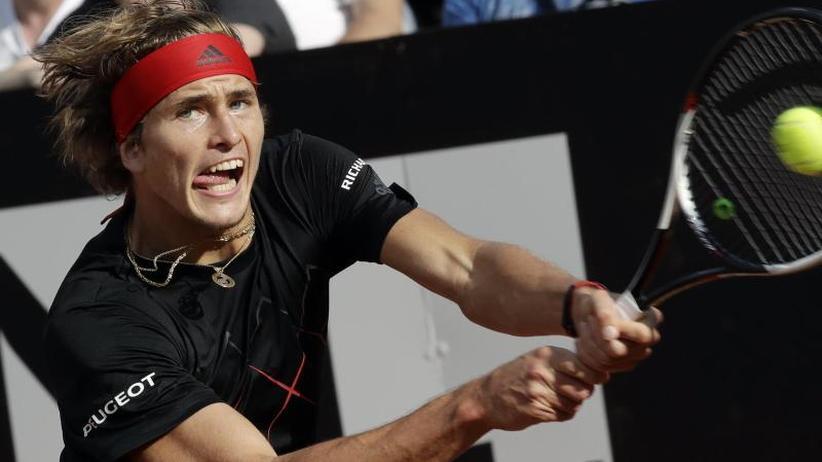 Tennis-Turnier: Zverev und Kerber in Rom im Viertelfinale