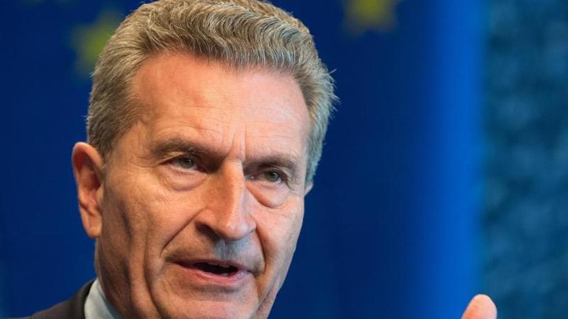 Trickst der EU-Kommissar?: EU-Parlament zweifelt an Oettingers Haushaltszahlen