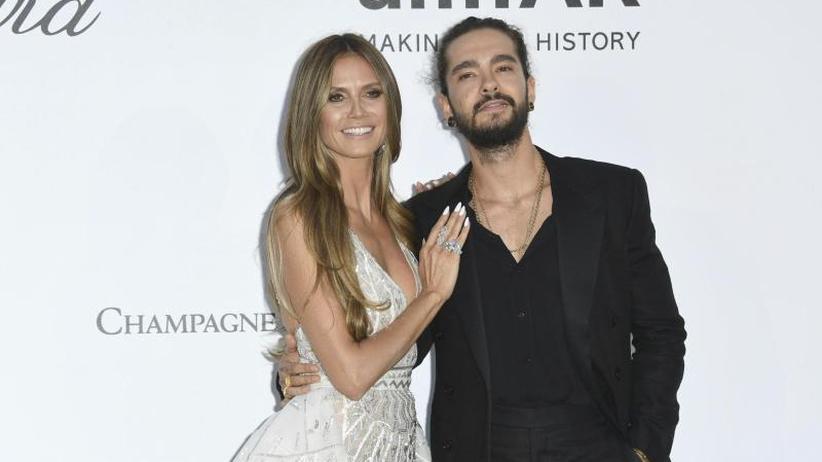 Paar-Auftritt: Heidi Klum und Tom Kaulitz posieren in Cannes