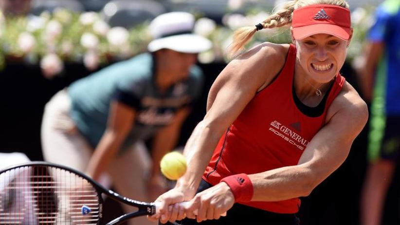 Niederlage gegen Switolina: Viertelfinal-Aus für Kerber beim Tennis-Turnier in Rom