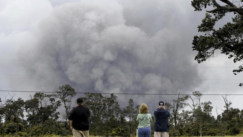 """Lage weiter """"sehr dynamisch"""": Vulkanausbruch auf Hawaii: weniger Asche als befürchtet"""