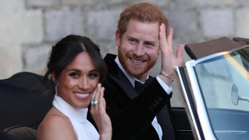 Nach emotionaler Trauung: Prinz Harry und Meghan feiern Hochzeitsparty
