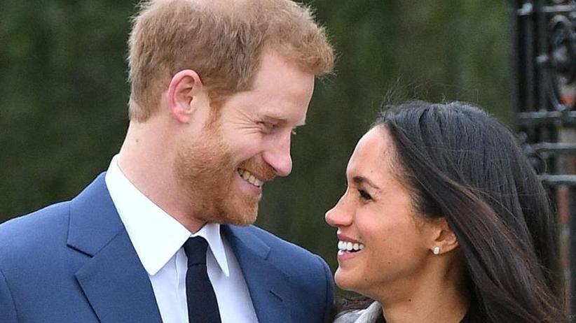Royale Pflichten: Harry und Meghan treffen Wohltäter