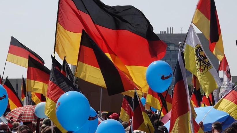 AfD-Demonstration: Die inszenierte Bürgerlichkeit