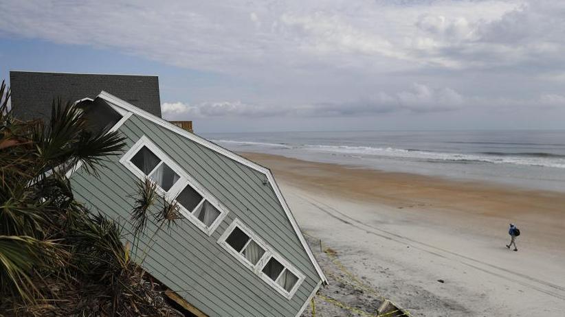 2017 Rekordwert an Schäden: Hurrikan-Experten erwarten weniger Wirbelstürme