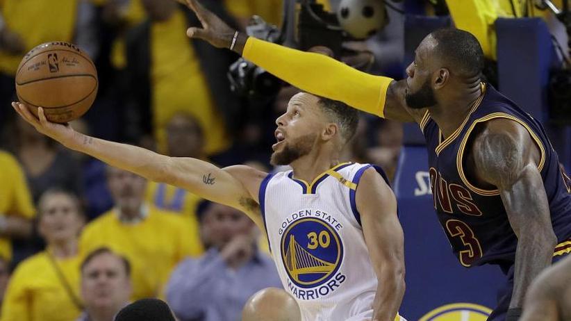 Cavs vs. Warriors: James fordert Curry: Nur Außenseiter im NBA-Finale