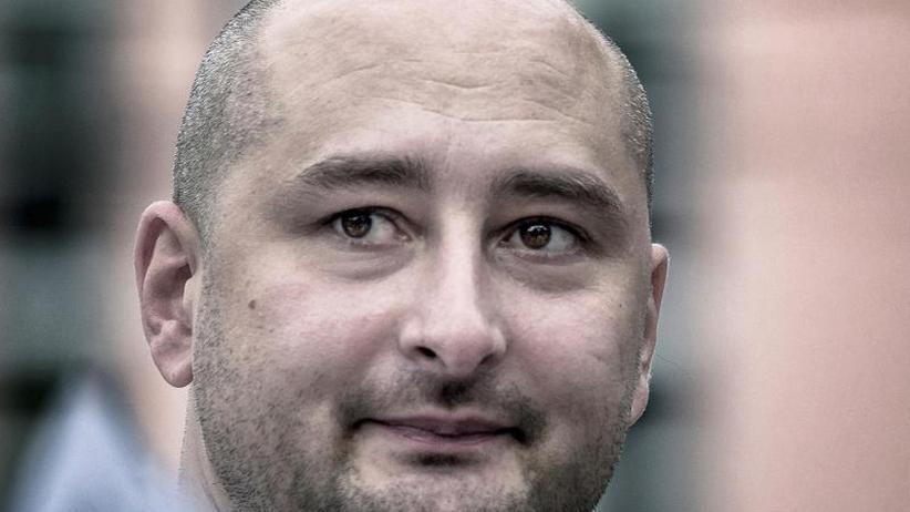 Arkadi Babtschenko erschossen: Kiew macht Russland für Mord an Journalisten verantwortlich