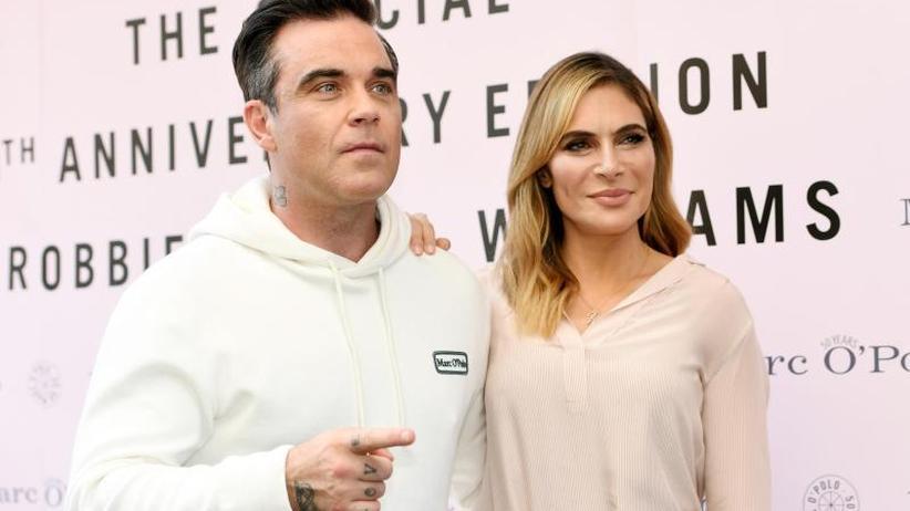 Prominente Unterstützung: Robbie Williams hilft beim Heiratsantrag