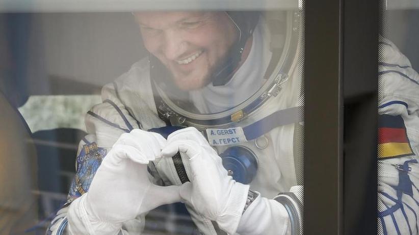"""Sechs Monate im All: """"Astro-Alex"""" Gerst verlässt Planet Erde"""