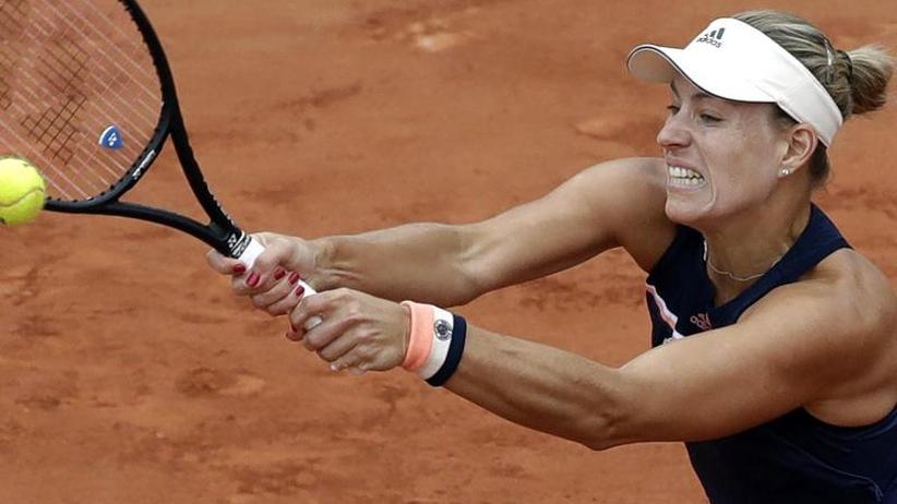 Grand-Slam-Turnier: Kerber scheidet im Viertelfinale der French Open aus