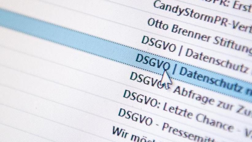 Gesetzesänderung angestrebt: DSGVO: Union will Abmahnungsmissbrauch stoppen