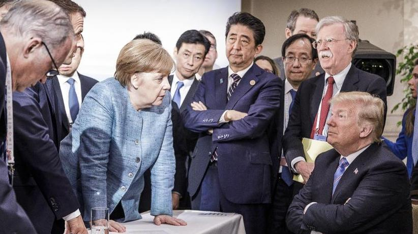 Trump spricht von Erfolg: G7-Gipfel versinkt im Streit