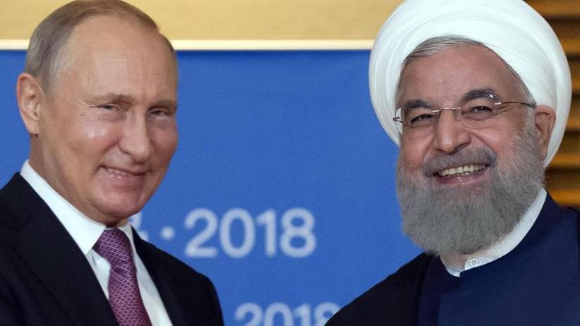 Ruhani trifft Putin: Iran geht nach US-Ausstieg aus Atomdeal auf Russland zu