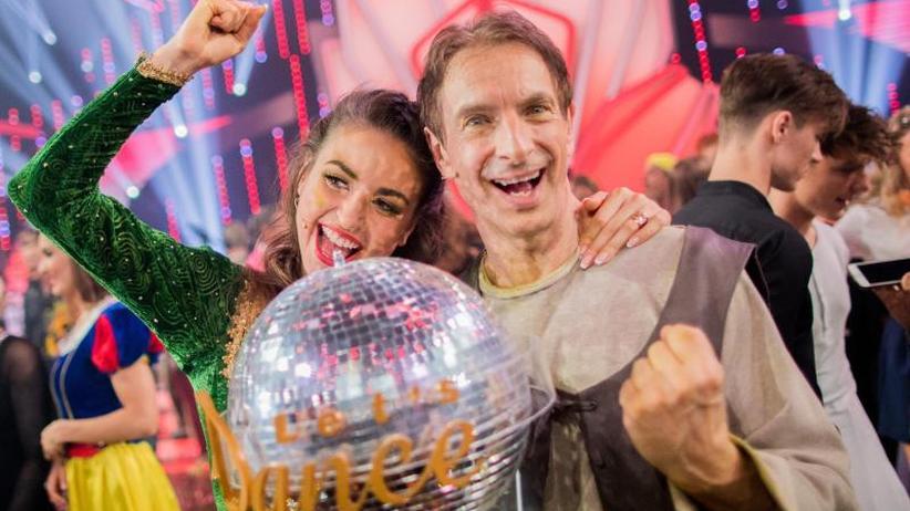 """RTL-Tanzshow: Locker zum Sieg: Ingolf Lück gewinnt """"Let's Dance"""""""