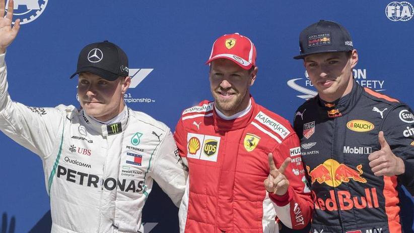 Nach fünf Jahren:: Vettel holte Kanada-Pole - Hamilton nur Vierter