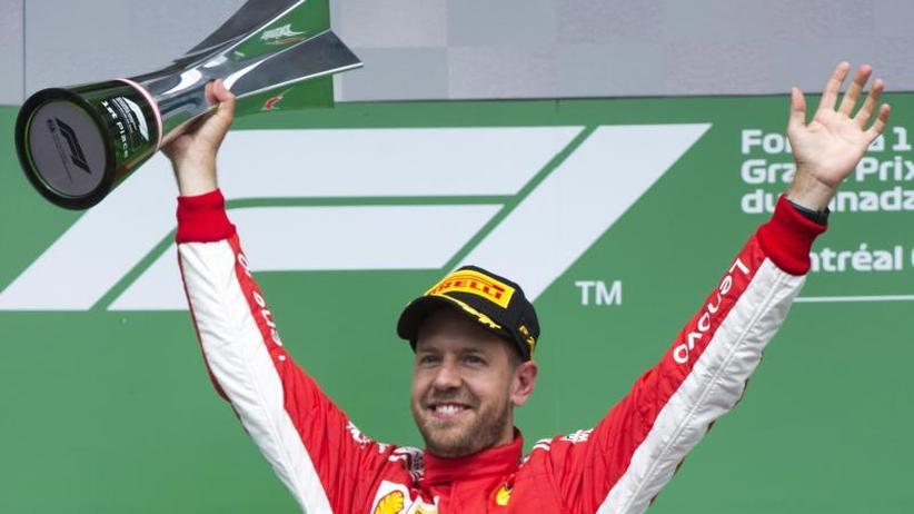 GP von Kanada: Vettel mit 50. Sieg zurück an die Formel-1-Spitze
