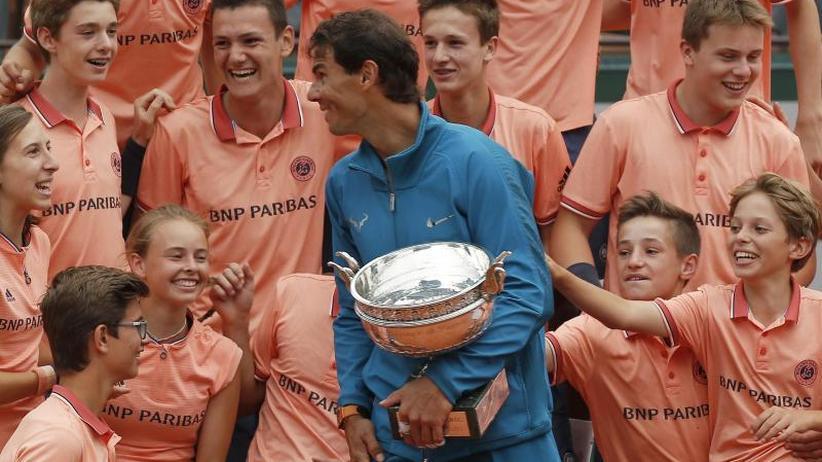 French-Open-Sieger: Nadal: Denke nicht an 20 Grand-Slam-Titel von Federer