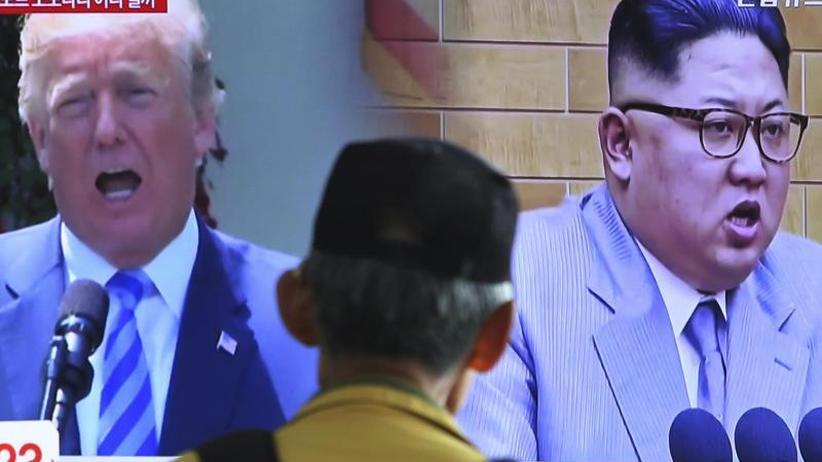 Annäherung nach Drohungen: Trump und Kim in Zitaten
