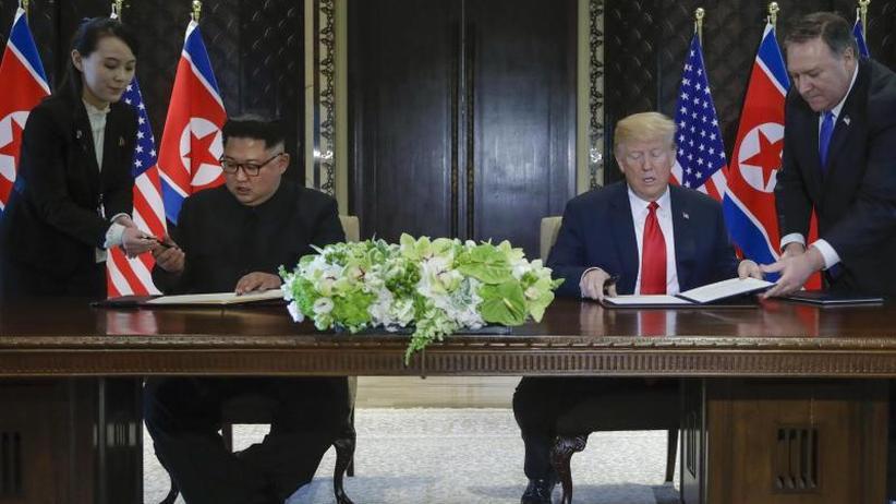 Treffen in Singapur: Atomare Abrüstung ohne Fahrplan: Trump feiert Gipfel-Erfolg