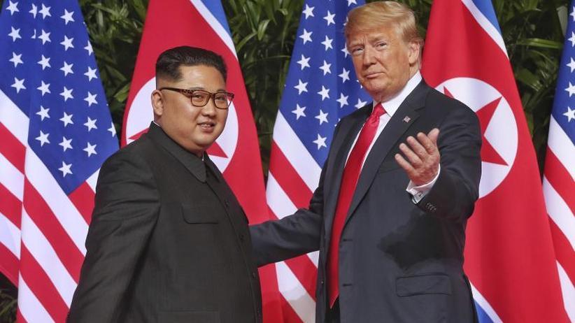 Trump: Nukleargefahr gebannt: Schulterklopfen und viel Kritik nach Nordkorea-Gipfel