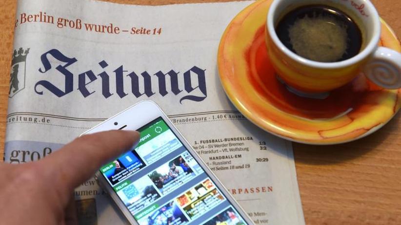 Studie zur Mediennutzung: Die News kommt per Smartphone - aber selten von Facebook