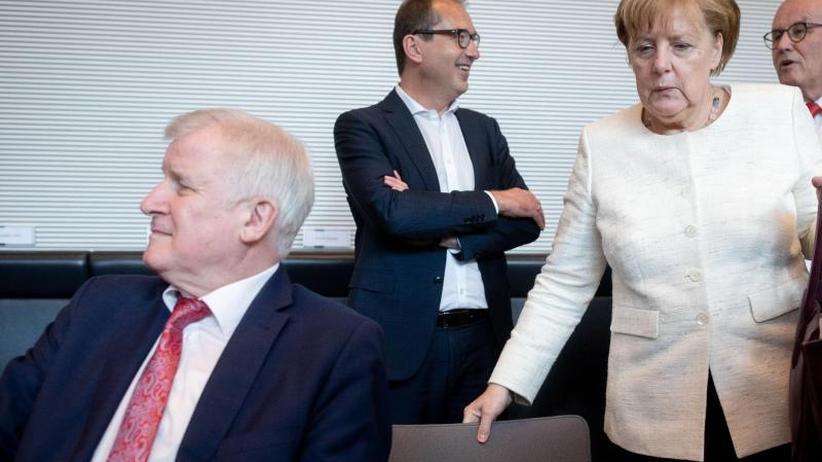 Seehofer kontra Merkel: Dramatische Stunden am Rande des Koalitionsbruchs