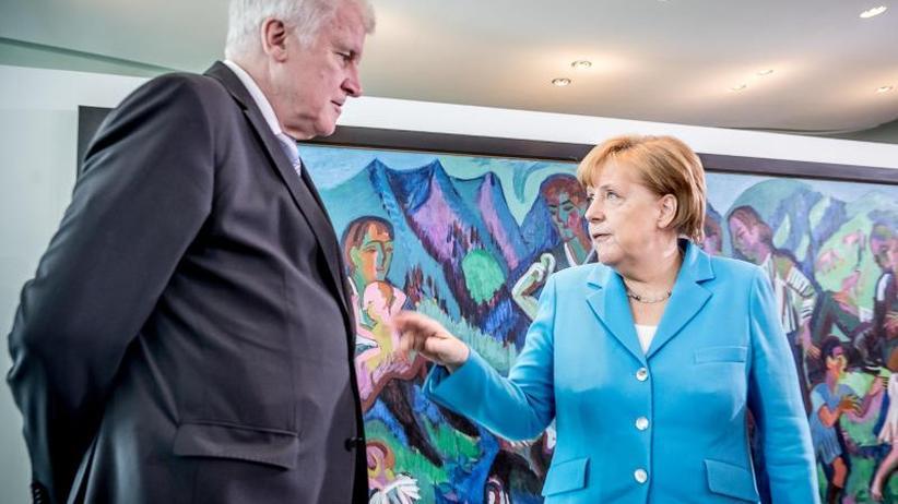 Asylstreit: Lösung bahnt sich an: Kanzlerin und CSU auf Kompromisssuche
