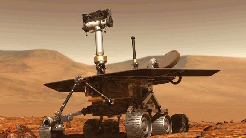"""Opportunity"" hängt fest: Mars-Rover im Staubsturm: Nasa ""besorgt, aber hoffnungsvoll"""
