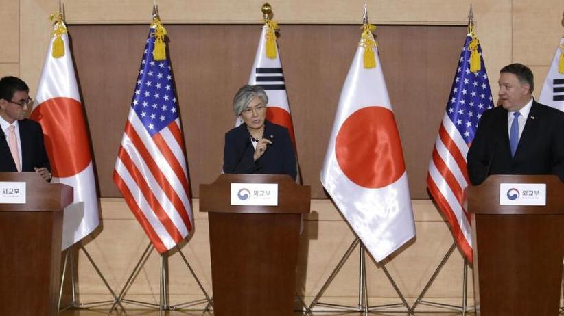Vereinbarung von Trump und Kim: Pompeo: USA halten an Denuklearisierung Nordkoreas fest