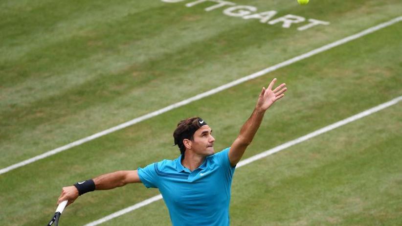 ATP Stuttgart: Tennisstar Federer trifft im Viertelfinale auf Pella
