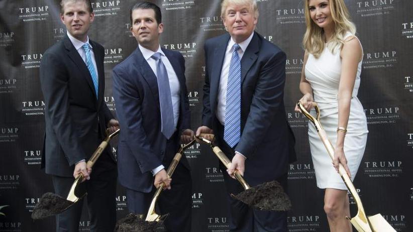 Wegen illegaler Geschäfte: US-Staatsanwältin verklagt Trump und dessen Kinder