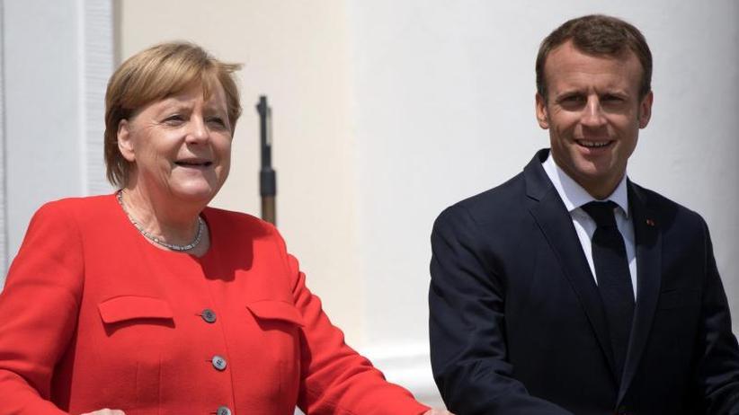 Rückendeckung aus Paris: Merkel und Macron verbünden sich für eine EU- und Asylreform